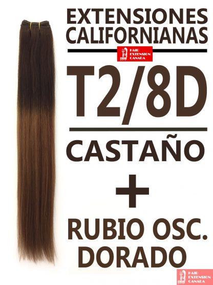 Extensiones californianas T2/8D