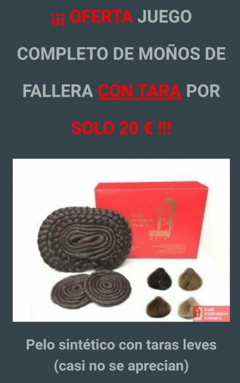 Liquidación de Stock · Juego completo Moños Fallera 20 € !!!