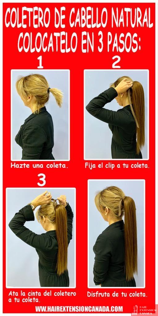 coletero cabello natural