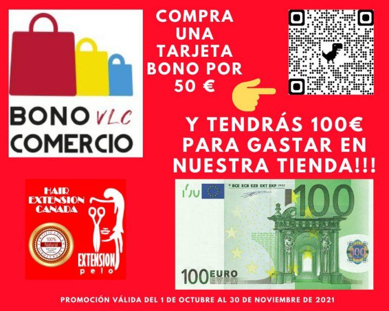 PROMOCIÓN !! POR SÓLO 50 € TENDRÁS 100 € DE COMPRA